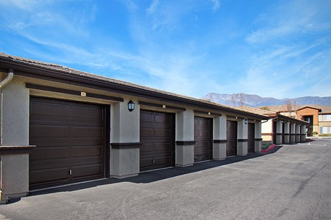 Outdoor parking garages