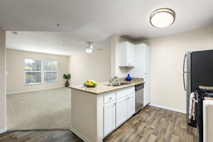 Kitchen Living Area  at 55+ FountainGlen Rancho Santa Margarita, Rancho Santa Margarita, California