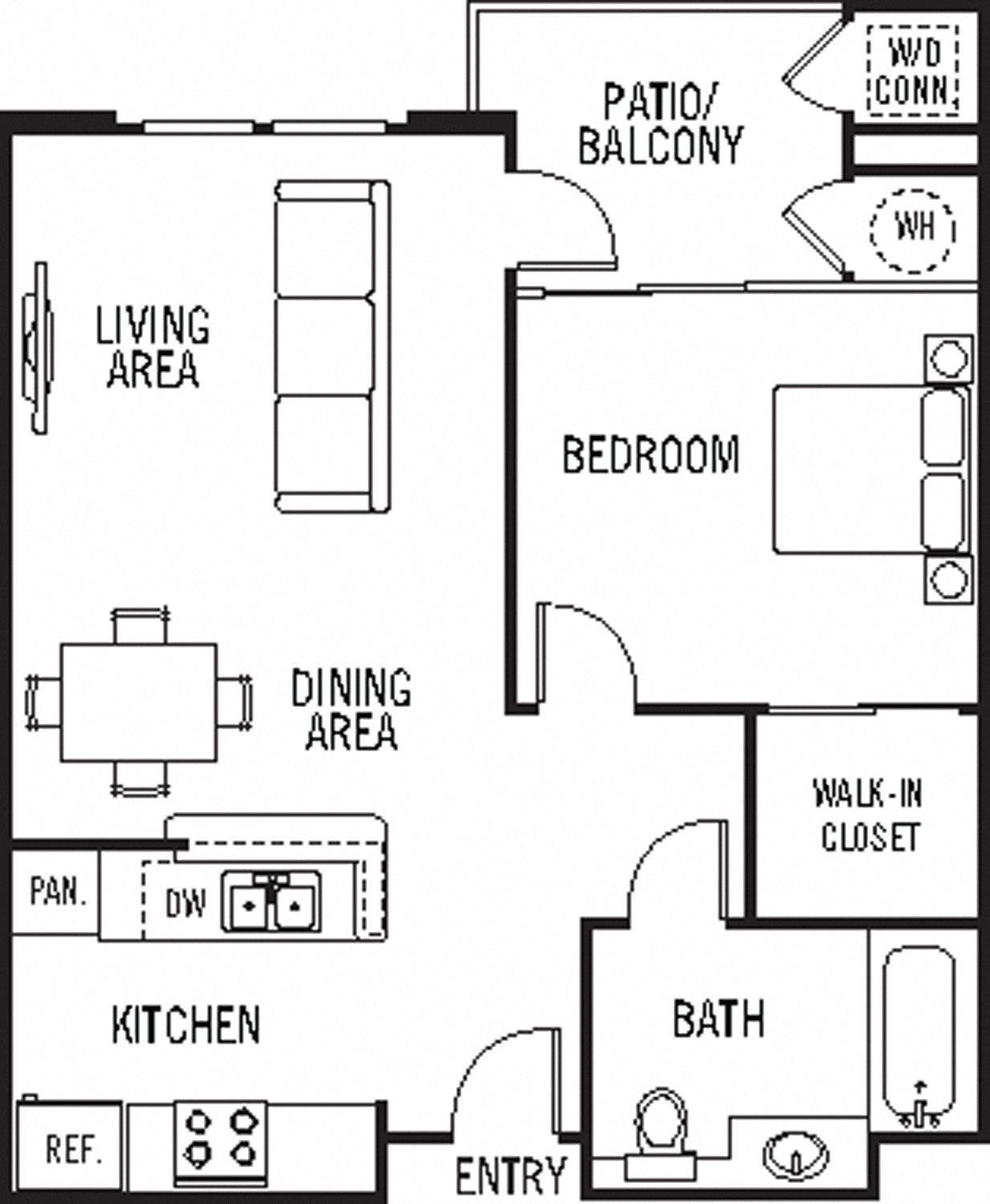 Ana Capa Floor Plan 1