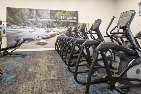 Fully Equipped Fitness Center at The Knolls, Thousand Oaks, CA, 91362