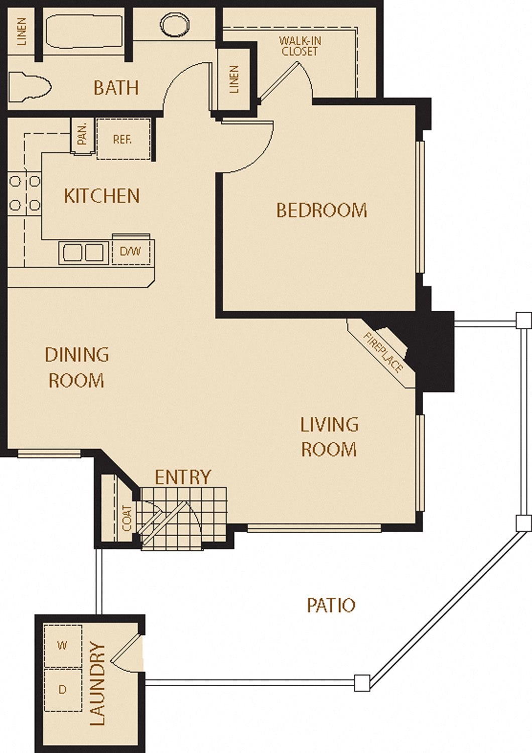 Coastal Oaks Floor Plan 1