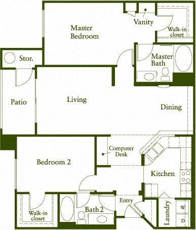 Etude Floor Plan 6