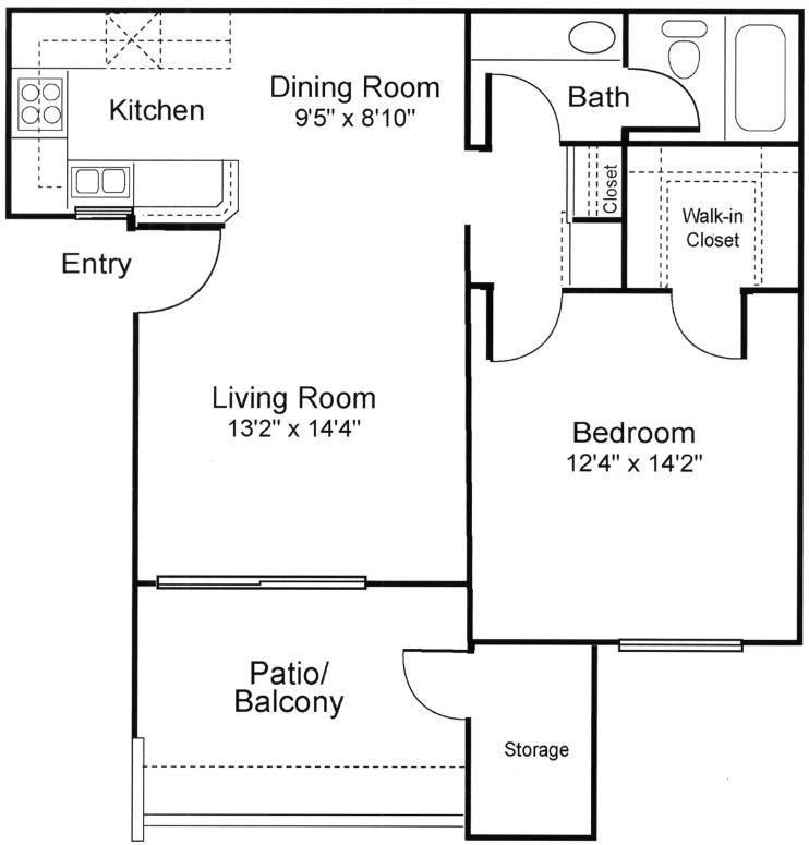 Briarwood Floor Plan 1