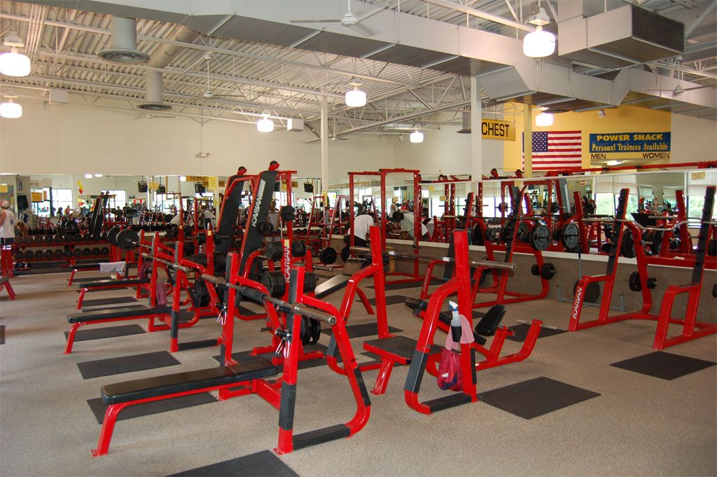 All Residents Receive a FREE Membership to Powershack Fitness!