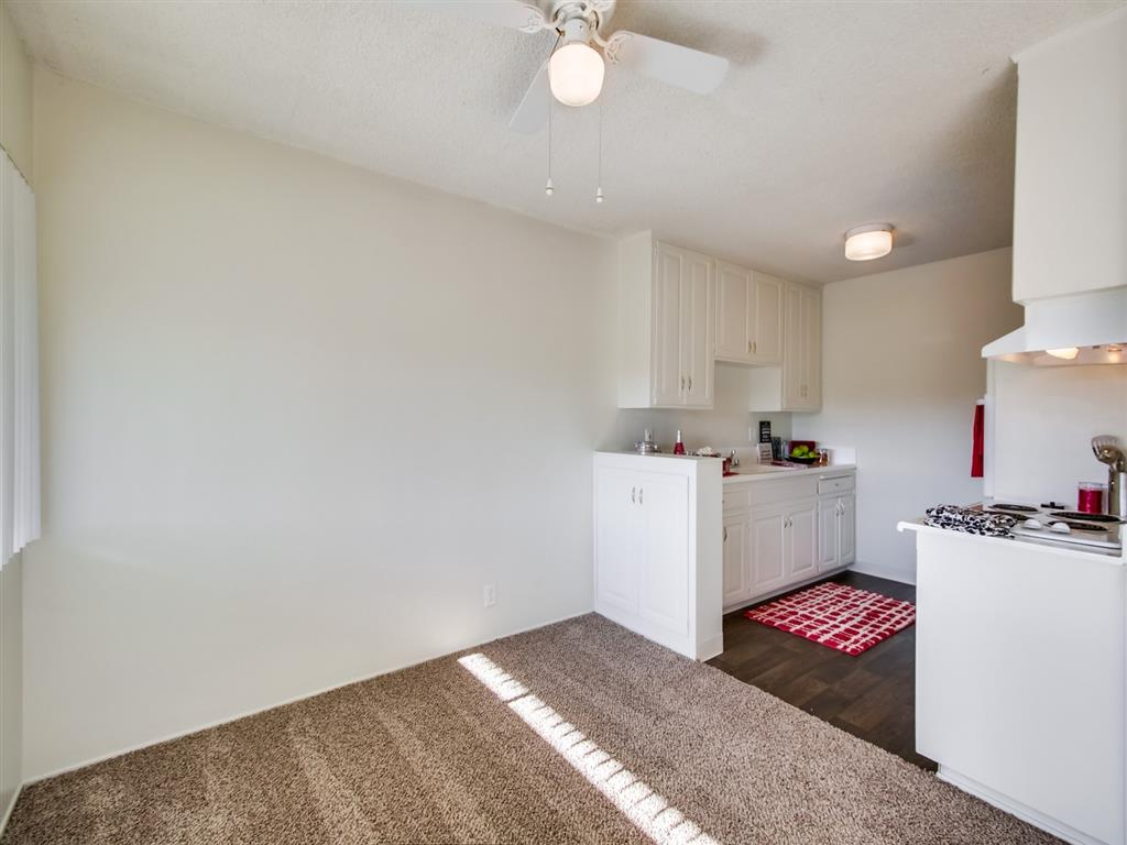 Open Kitchen at Alberts College Apartments, 5460 55th Street, 92115