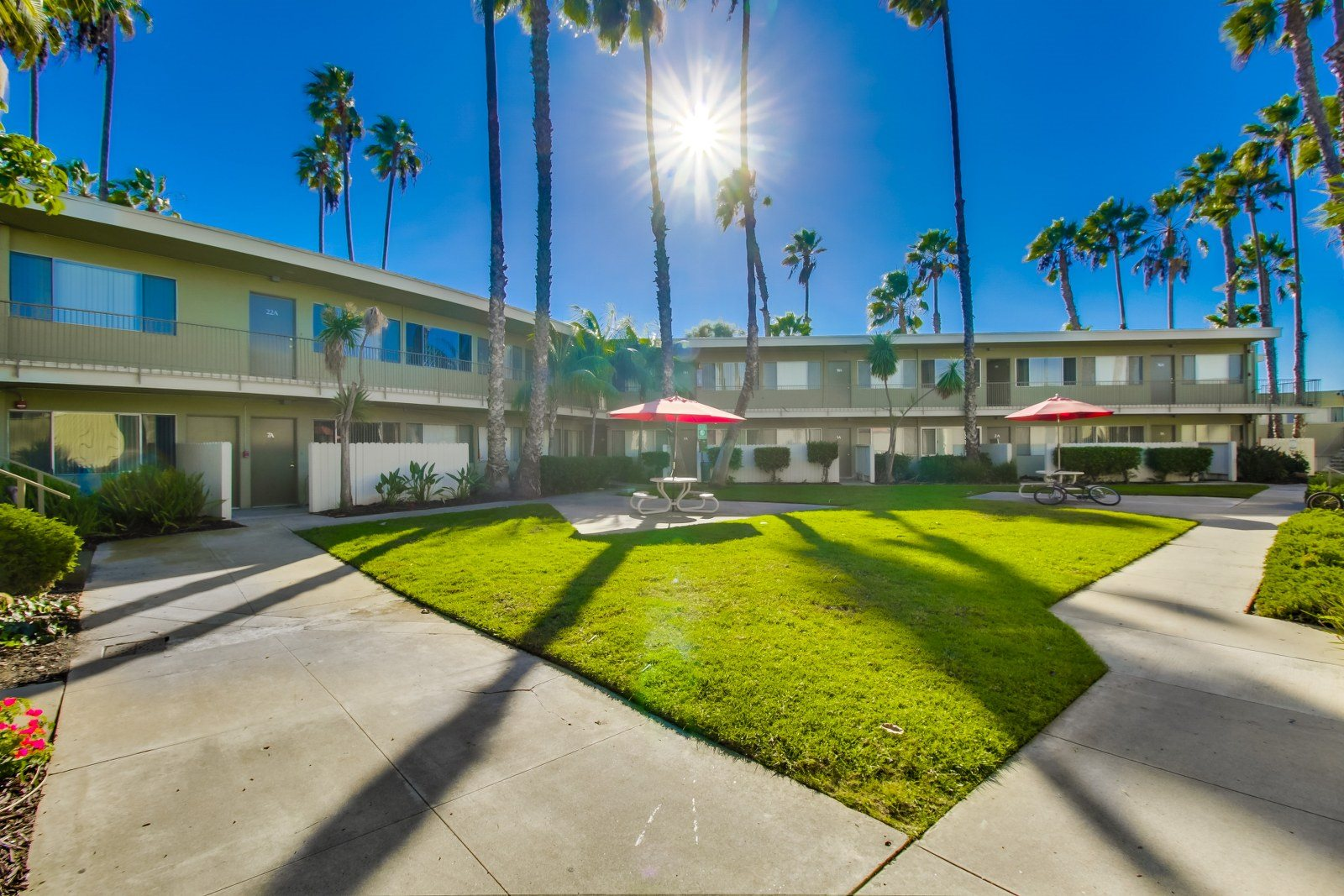 Nature Friendly Surroundings at Alberts College Apartments, 5460 55th Street, CA
