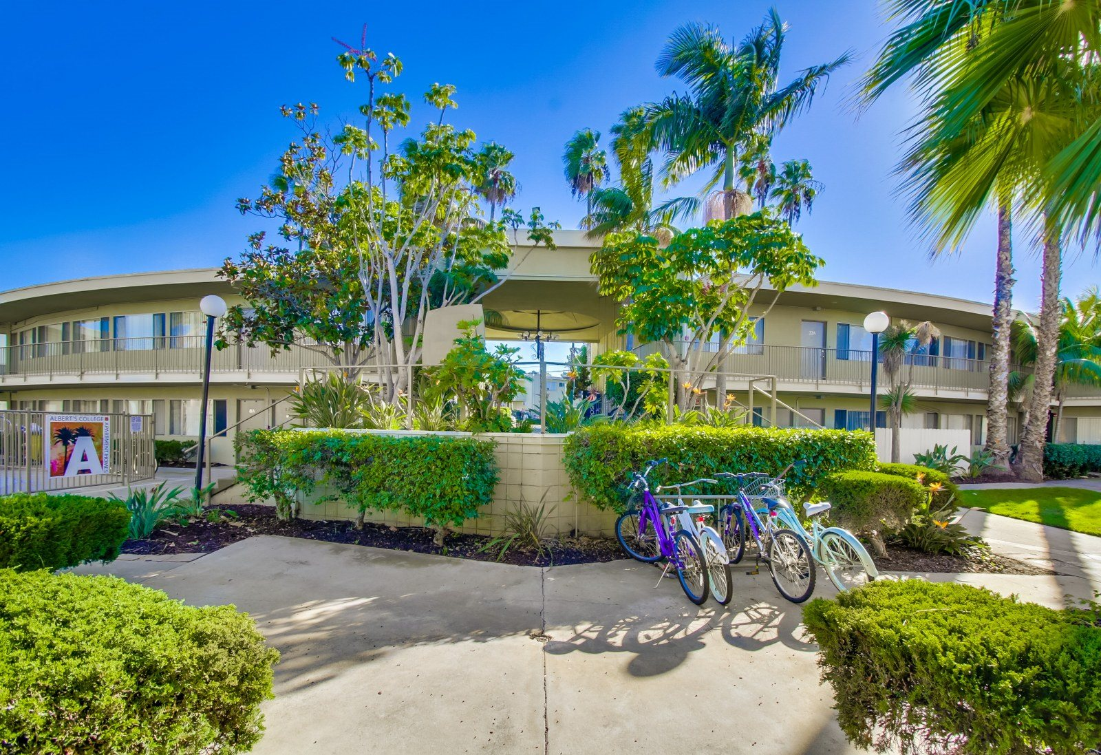 Community Close to Nature at Alberts College Apartments, 5460 55th Street, 92115