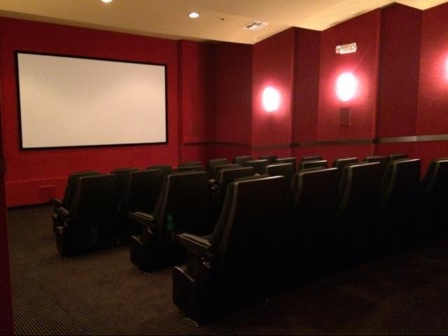 Movie theater at Ascent at Papago Park, AZ, 85008
