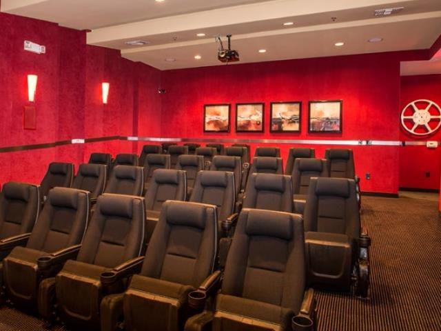 Movie theater at Ascent at Papago Park, Phoenix, AZ, 85008