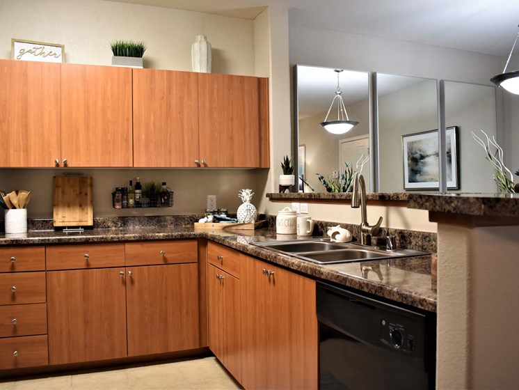 Furnished Kitchen at Papago Park, Phoenix, AZ, 85008