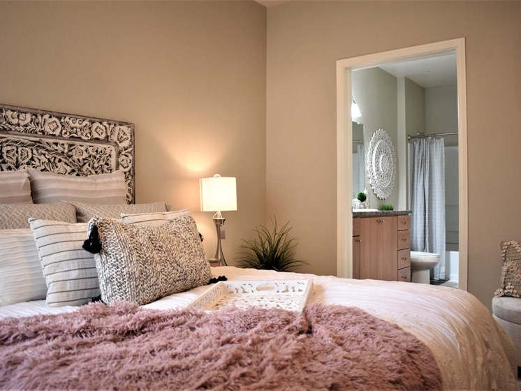 Modern Master Bedroom at Papago Park, Phoenix, AZ, 85008