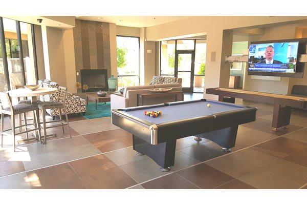 Billiard Table at Ascent at Papago Park, Phoenix, Arizona