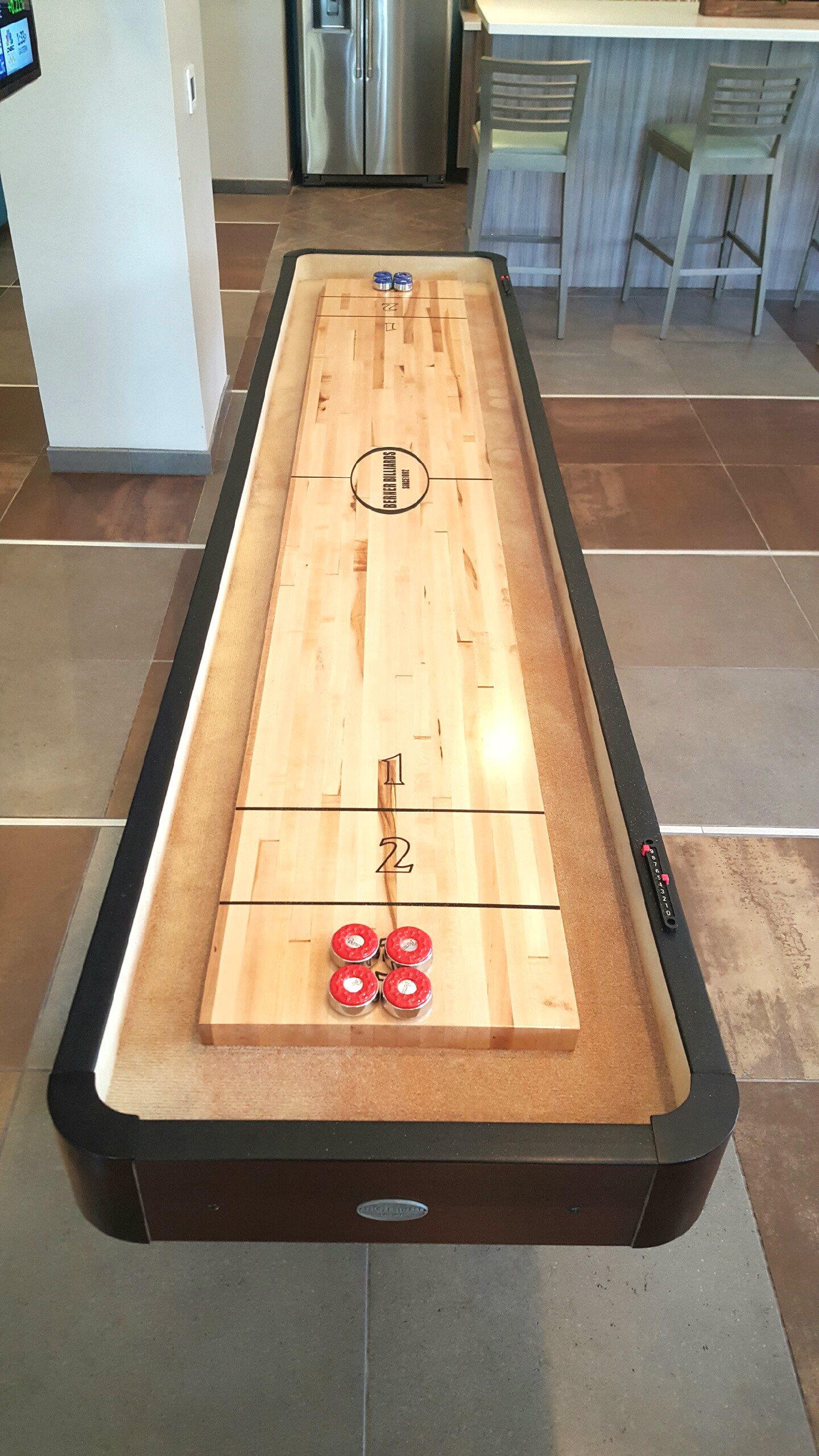 Shuffleboard at Ascent at Papago Park, Phoenix, 85008