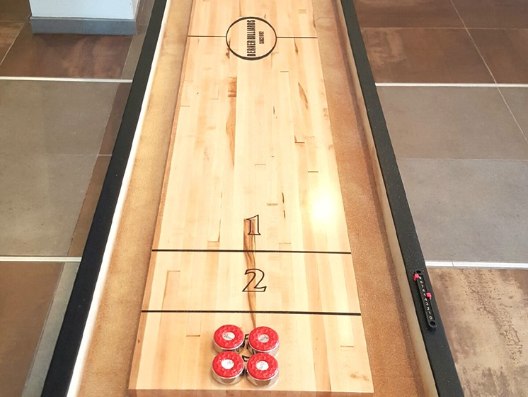 Shuffleboard at Ascent at Papago Park, Phoenix, 85008