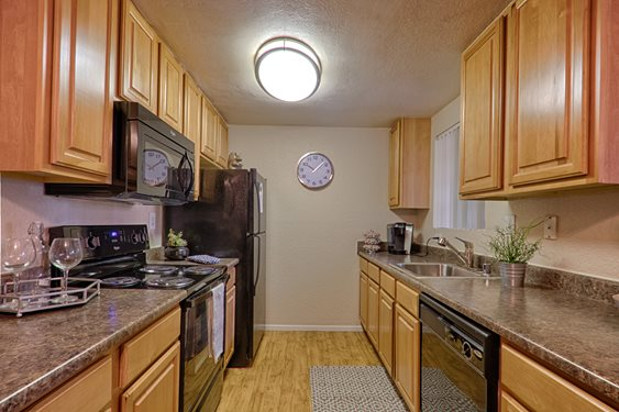 Fully equipped kitchen, CA 92078
