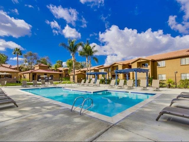 Outdoor Pool at Barham Villas Apartments, San Marcos, CA, 92078