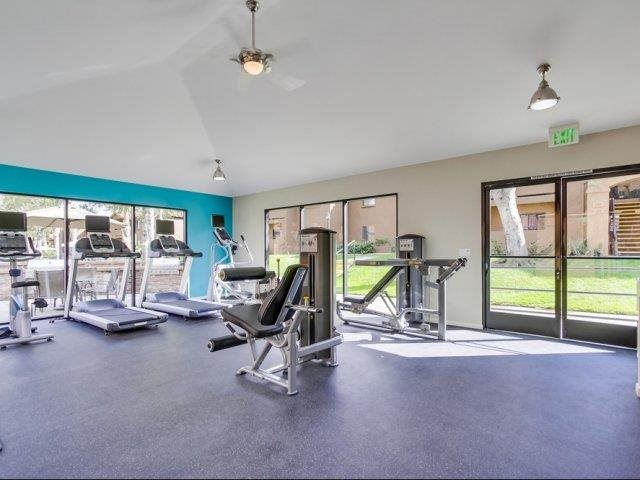 Fitness Center at Barham Villas Apartments, CA, 92078