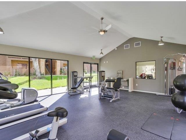 Fitness Center at Barham Villas Apartments, 92078