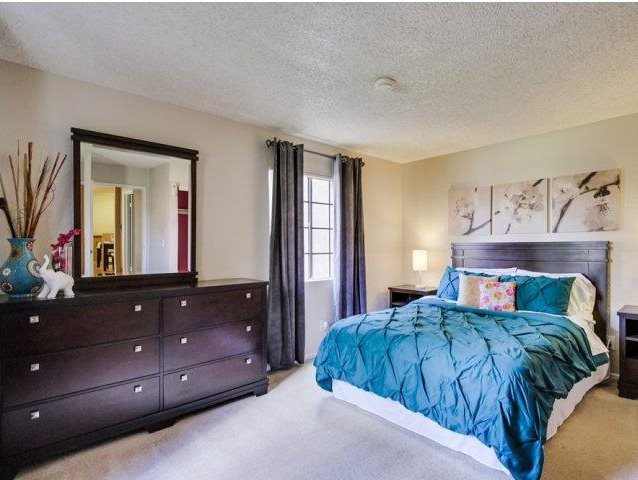 Bedroom at Barham Villas Apartments, San Marcos, CA