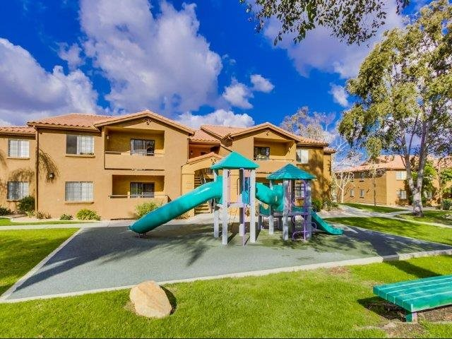 Playground at Barham Villas Apartments, San Marcos, California 92078