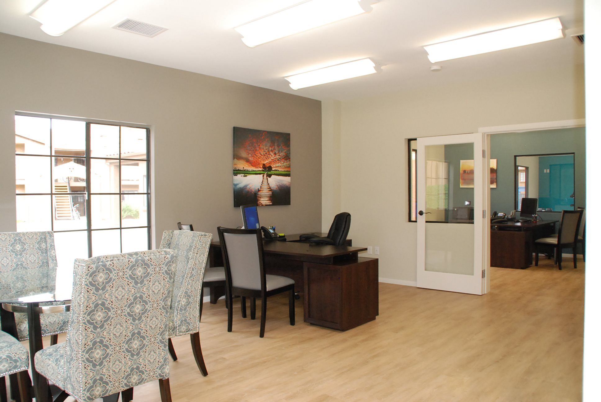 Community Room at Barham Villas Apartments, San Marcos, CA, 92078