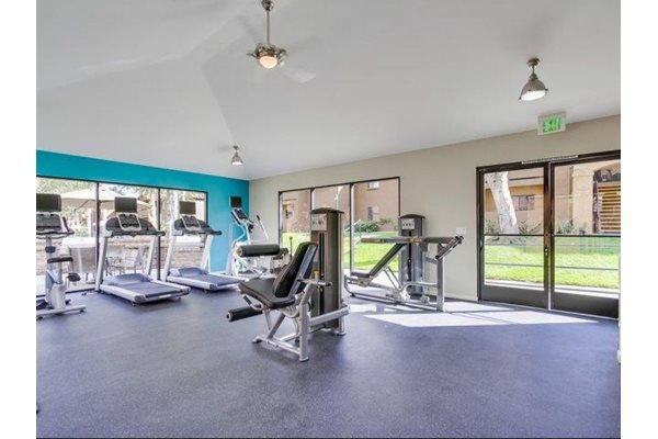 Fitness Center at Barham Villas Apartments, San Marcos, CA