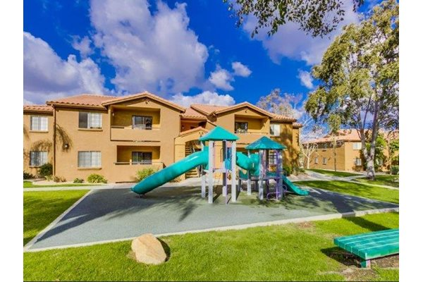 Playground at Barham Villas Apartments, San Marcos, California