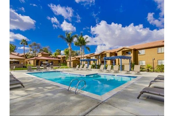 Swimming Pool at Barham Villas Apartments, San Marcos, California, 92078
