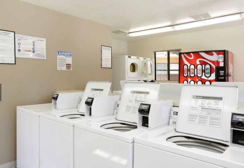 Laundry Facilities at Barham Villas Apartments, San Marcos