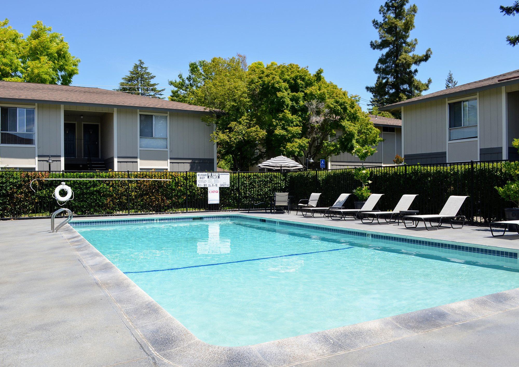 Resort-Style Pool at Bella Vista Apartment Homes, Napa, 94558