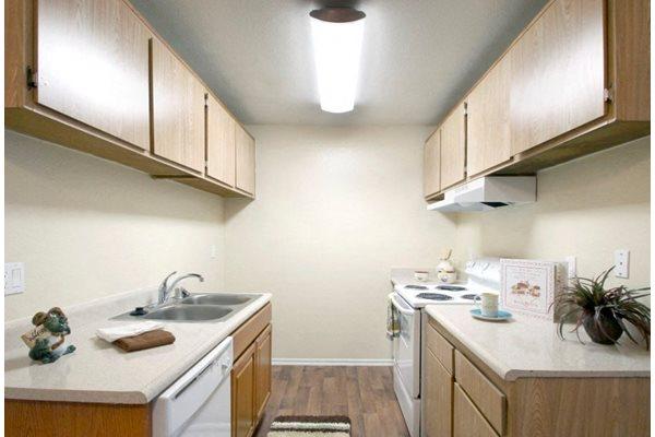 Kitchen at Creekside Village San Bernardino