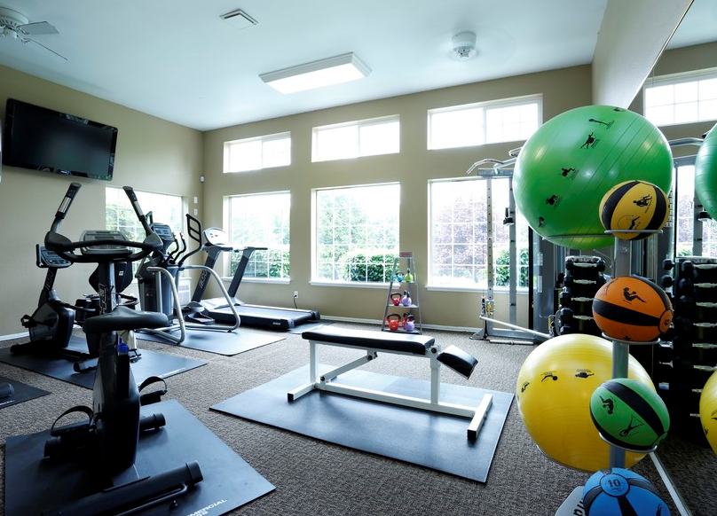 Fitness Center at Discovery Landing Apartments, Burien Wa