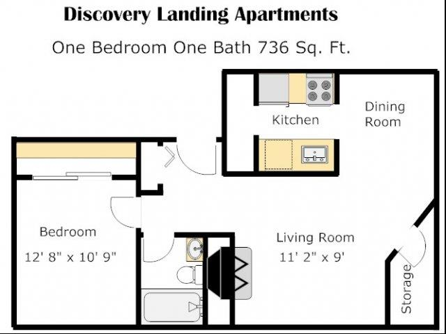 Maury Floorplan At Discovery Landing, Washington
