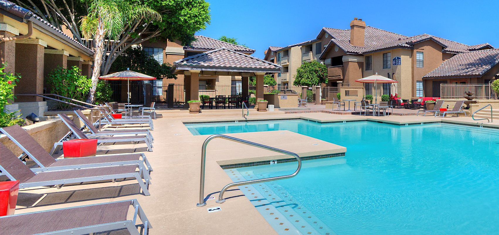 Pool Side at Garden Grove Apartments, Tempe, AZ, 85283
