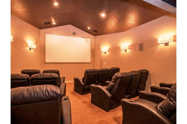 Media Room and Movie Theater at Garden Grove Apartments, Tempe, AZ, 85283