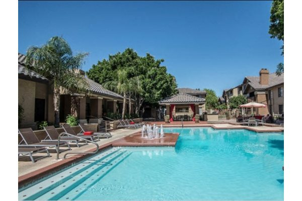 Resort-Style Pool at Garden Grove Apartments, Tempe, AZ, 85283