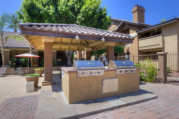 Ramada's with BBQ's at Garden Grove Apartment Homes, Tempe, Arizona