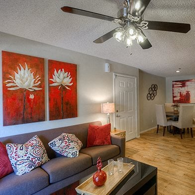Wood-Style Flooring in Select Apartments at Garden Grove Apartment Homes, Arizona, 85283