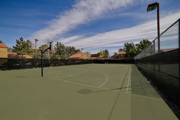 Basketball Court at Granada Villas, Lancaster, California