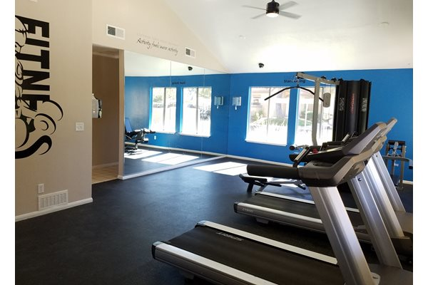 Fitness Center, at Granada Villas Apts, California, 93534
