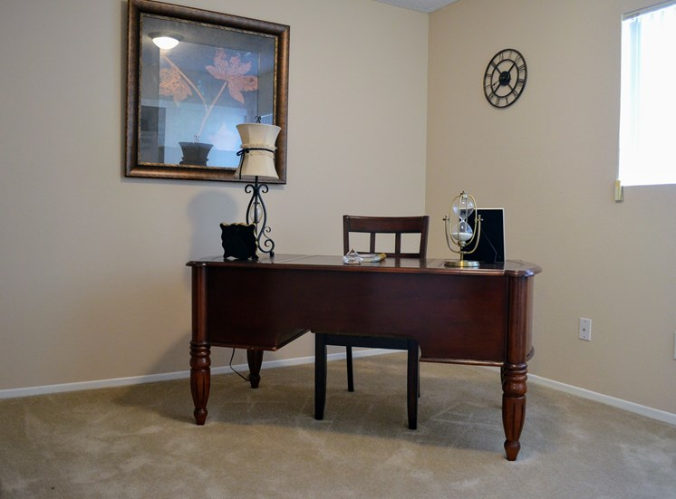 Separate Study Table at Morning View Terrace Apartments, 439 W El Norte Parkway, Ste 102, Escondido