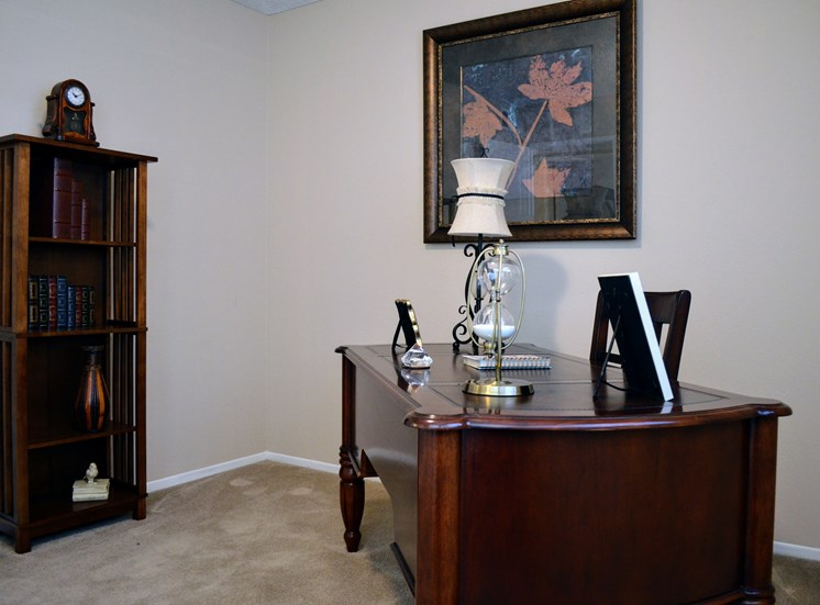 Study Desk with Shelve Available at Morning View Terrace Apartments, Escondido, CA