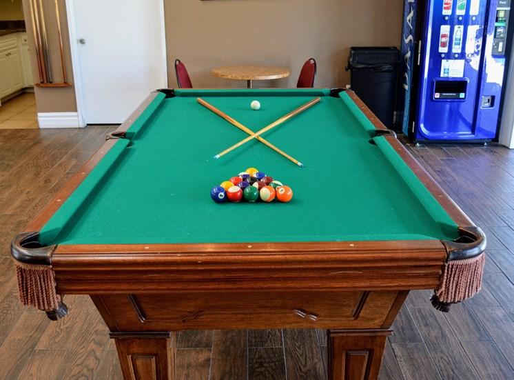 Billiard Room at Morning View Terrace Apartments, 439 W El Norte Parkway, Ste 102, Escondido