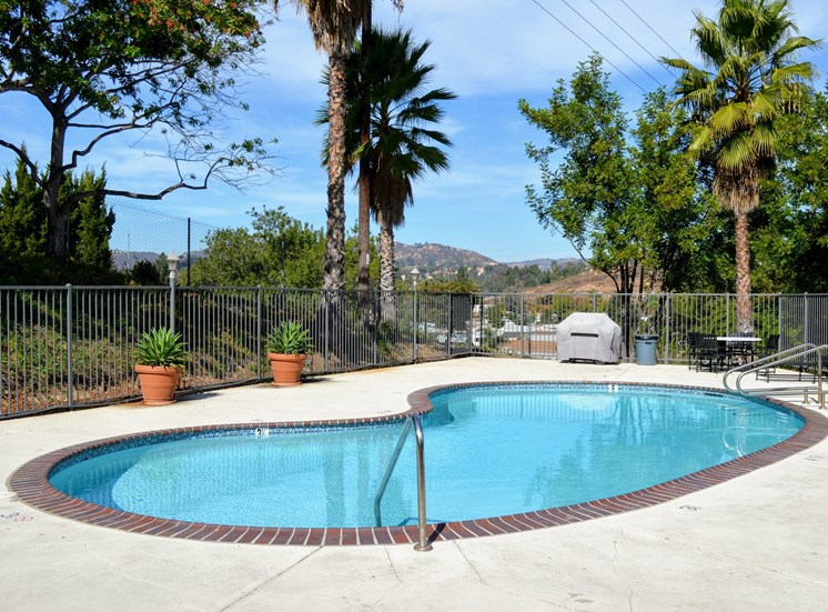 Resort Style Pool at Morning View Terrace Apartments, Escondido, California