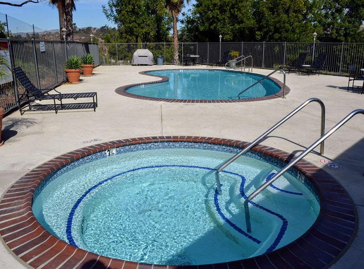 Year-Round Hot Tub at Morning View Terrace Apartments, CA, 92026