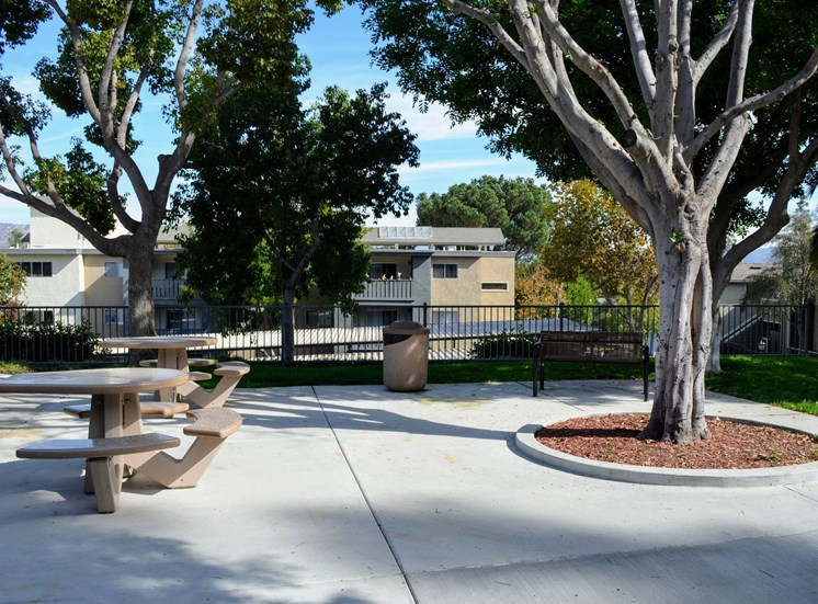 Beautiful Landscaping and Park-like Setting at Morning View Terrace Apartments, Escondido, CA