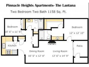 Lantana L Floorplan at Pinnacle Heights, Tucson, AZ 85750