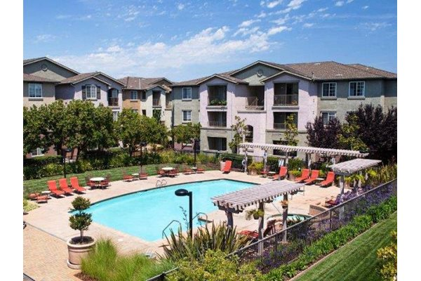 Resort-Style Pool at Sterling Village Apartments, CA
