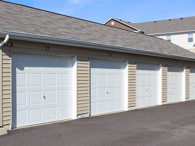 Garages at Residences at Northgate Crossing in Columbus, OH