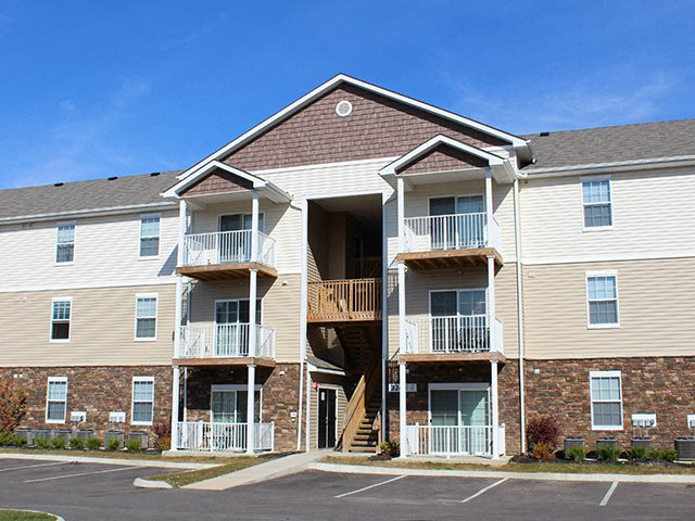 Patios & Balconies at Residences at Northgate Crossing in Columbus, OH